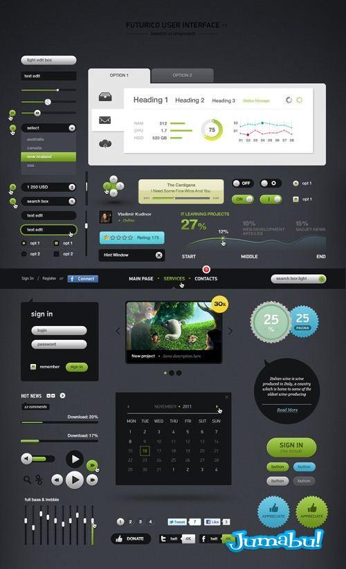 interfaz de usuarios - Interfaz de Usuarios en Photoshop