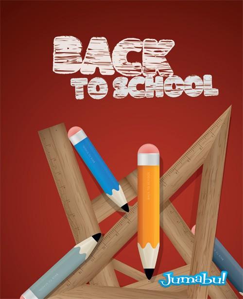 lapices-reglas-escuela-vectores