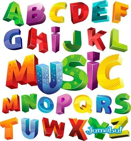 letras-colores-vectoriales