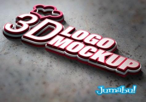 logo-3d-photoshop-mockup