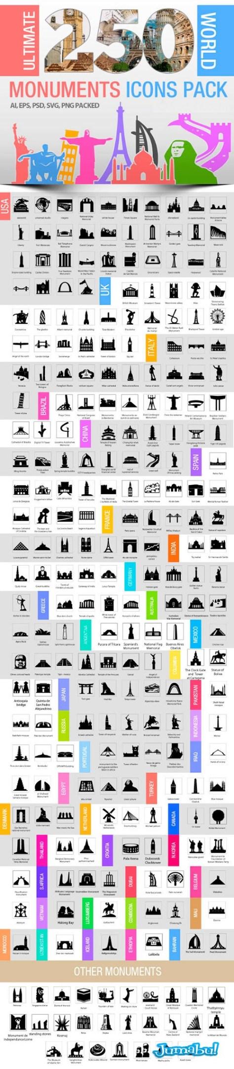 monumentos-de-todo-el-mundo-vectorizado