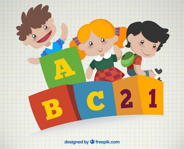 ninos-vectores-aprendiendo-escuela