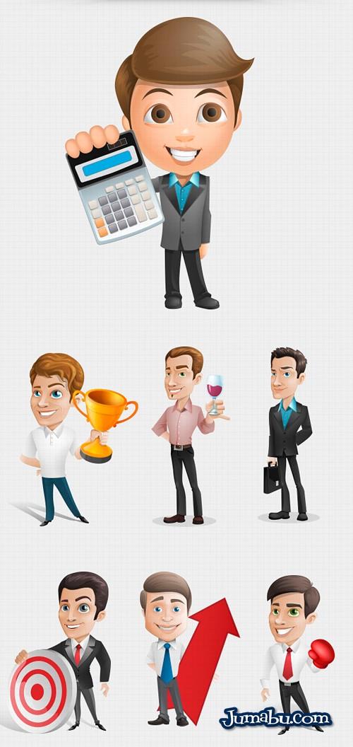 personajes-hombres-de-negocios