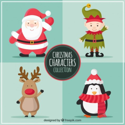 personajes-navidenos-vectorizados