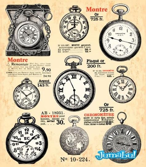 relojes-antiguos-vectorizados