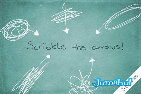 scribble_the_arrows__by_byjanam-d58jxwd