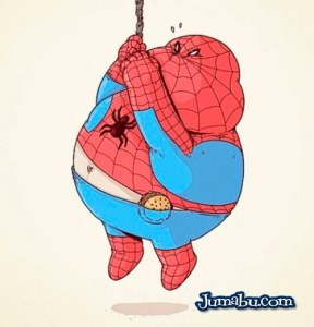 spiderman-gordo