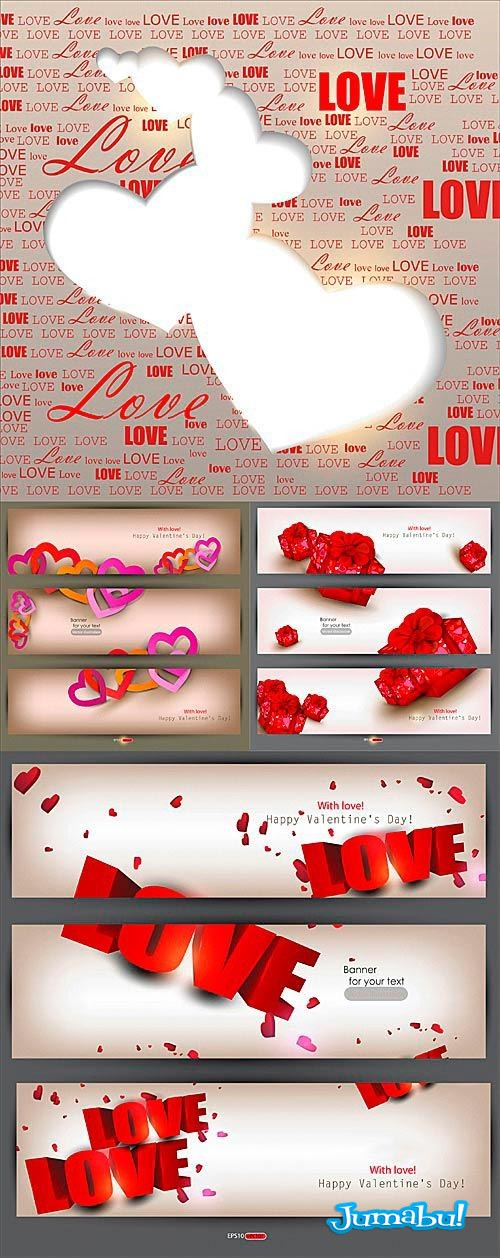 valentin-day-backgrounds-vector