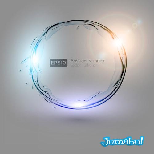 vectores-circular-agua-luces