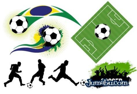 vectores-futbol-brasil-2014
