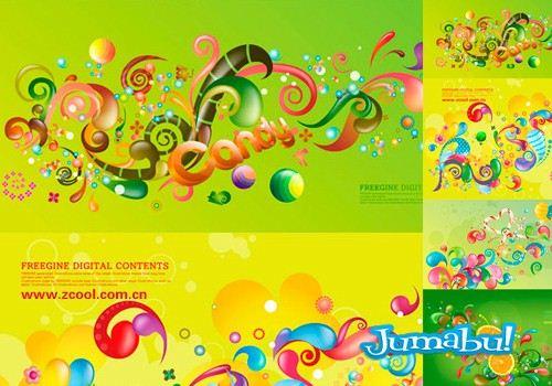 verde-candy-dulce-vectores-limon