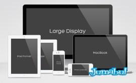 15793 - Plantillas de Dispositivos en Photoshop para Mostrar tu Web