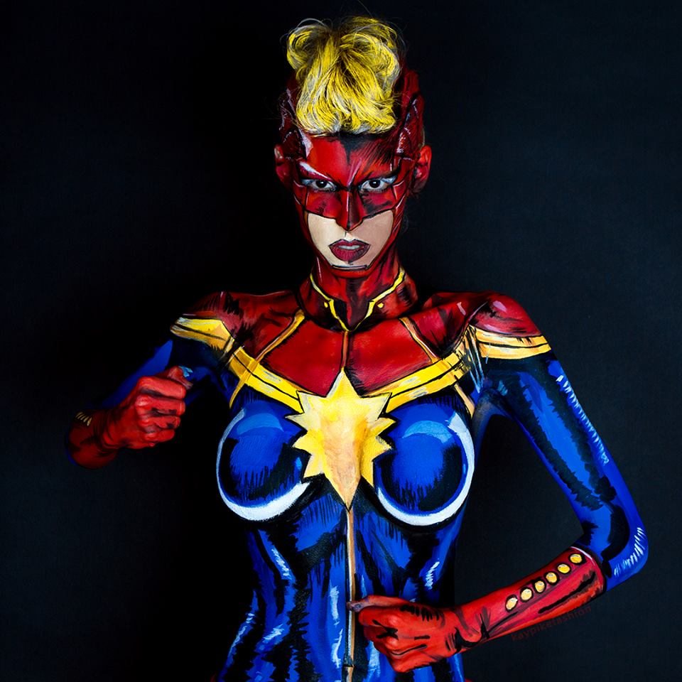 Captain Marvel Carol