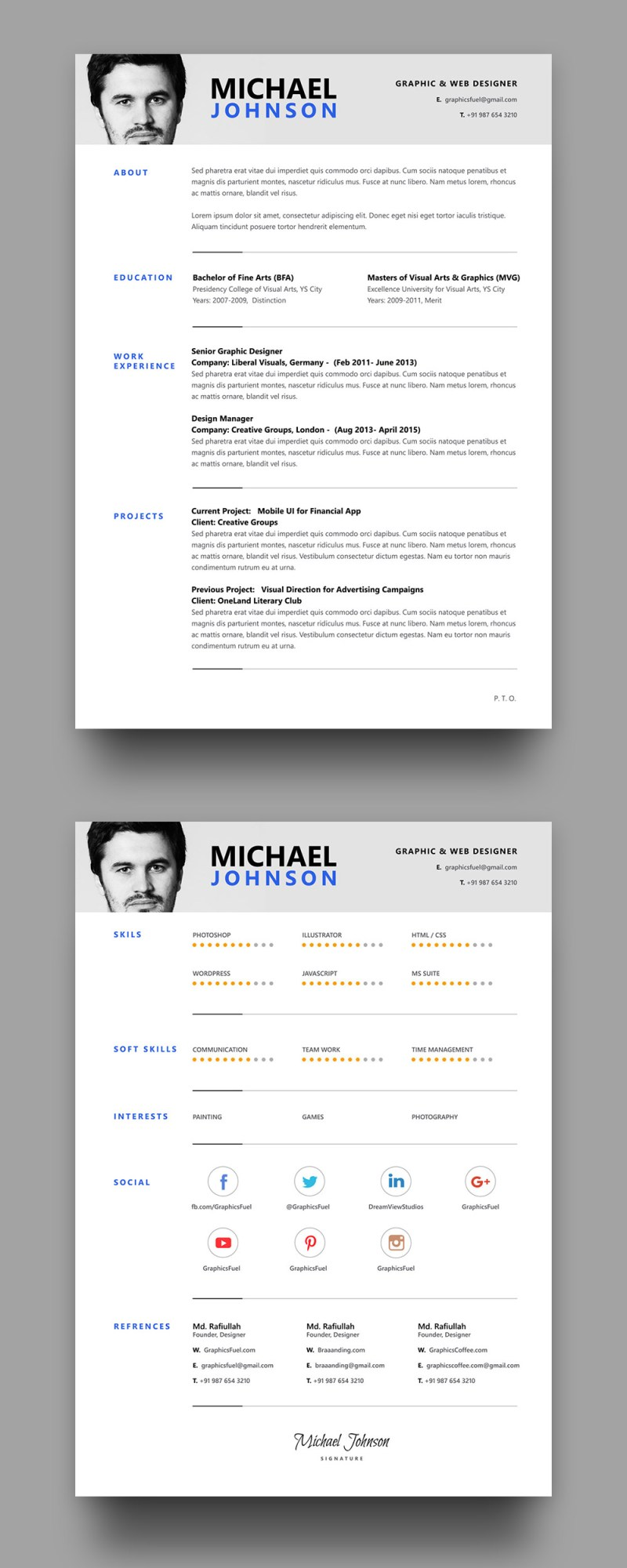 Resume-Template-Front-Back