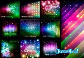 backgrounds coloridos fonods colores vectores - Fondos Coloridos en Vectores