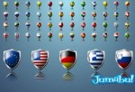 flags world simbol