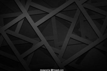 black background vector geometric - Fondo con Figuras Geométricas Negras Vectorizadas