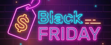 black friday cartel luminoso - Cartel de neon para Black Friday