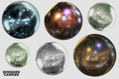 bolas-de-espejos-de-colores
