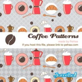 cafe vectores dibujados - Recursos de Cafetería Dibujados a Mano y Vectorizados