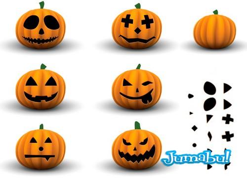 Crea tu Calabaza de Halloween en Vectores