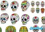 calaveritas mexicanas vectores vectorizadas - Calaveritas Mexicanas en Vectores