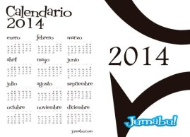 calendario 2014 agenda pdf - Calendario 2014 en PDF para Descargar