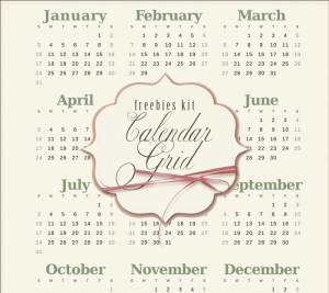 calendario 2016 png2 - Calendario 2016 para Imprimir Gratuito