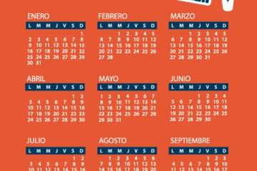 calendario 2017 gratis 1 - Calendario 2017 gratis para imprimir