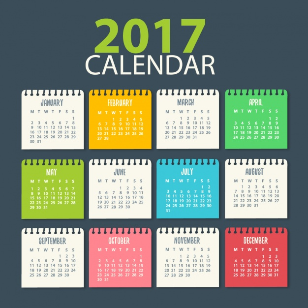 calendario 2017 gratis - Calendario 2017 para descargar gratis