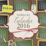 calendarios 2016 - Descarga un Calendario 2016 para Imprimir