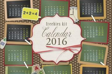 calendarios 2016 - Descarga un Calendario 2016 para Imprimir