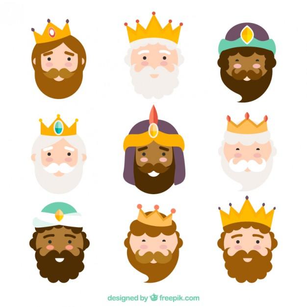 caras-de-reyes-magos