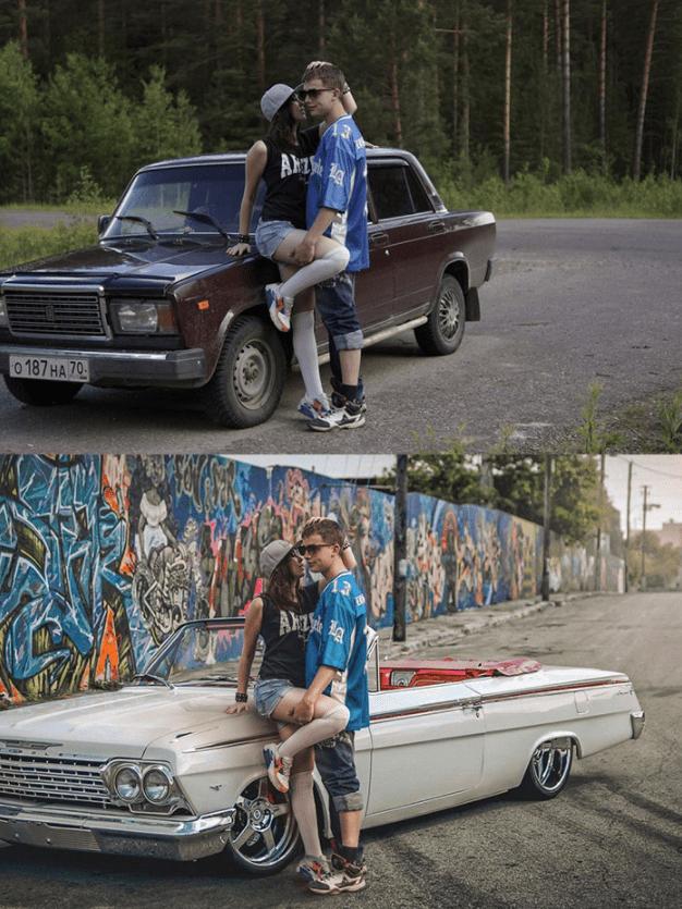 chicos jovenes antes y despues de photoshop - Mujeres, paisajes, niños, antes y después de aplicarle photoshop!