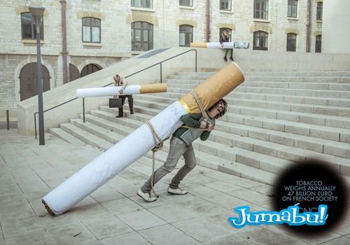 cigarro - Campaña Francesa Sobre el Tabaquismo
