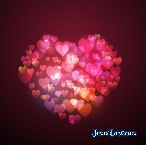 corazon de corazones vectorizados - Corazon de Corazones Vectorizados