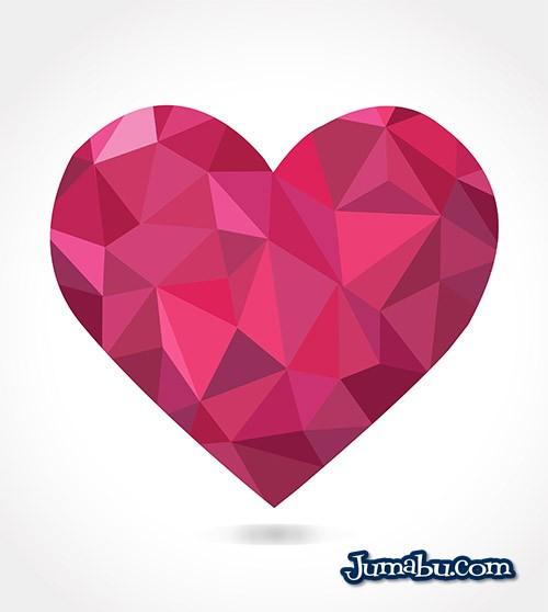 corazon-diamante-vector