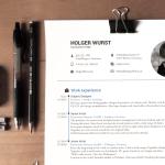 curriculom modelo gratis - Modelo de Curriculum fotorrealista para buscar trabajo