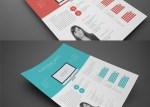curriculum vitae moderno - Plantilla de Curriculum Vitae Moderno para Editar con InDesign