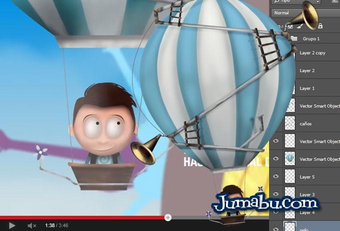 dibujitos animaos psd animacion - Dibujos Infantiles en PSD para Descargar