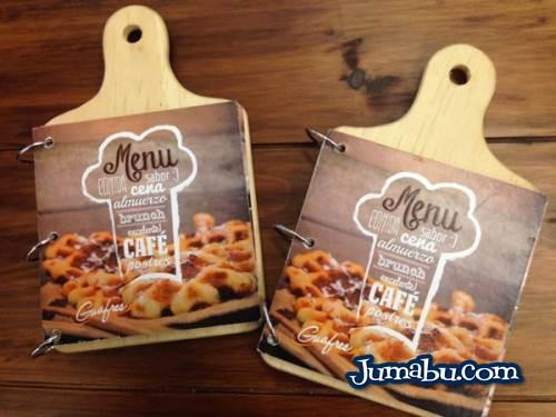 Dise o original para men de resturante jumabu for Disenos de menus para restaurantes