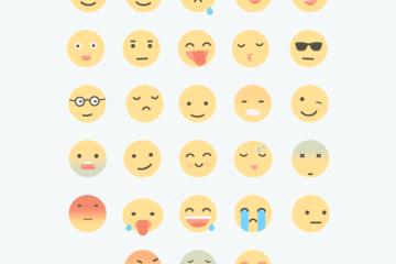 emoticones animados planos - Emoticones Animados para Descargar