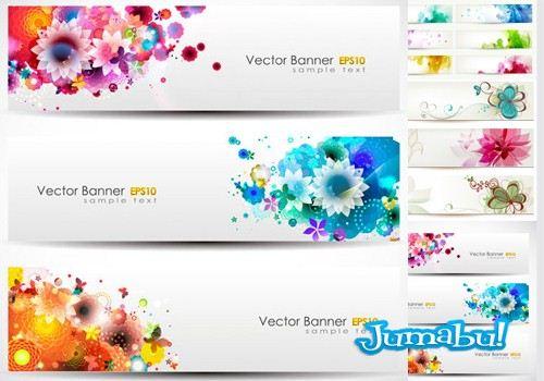 coloridas-flores-rosas-colorfull-vectoriales