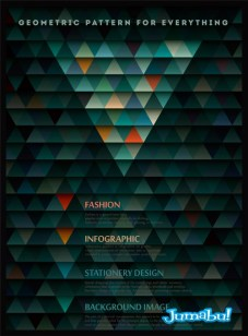 fondo-verde-vectores-triangulos-texturas