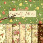 fondos florales vintage e1473862539850 - Descarga 8 Fondos HD otoñales con estilo vintage