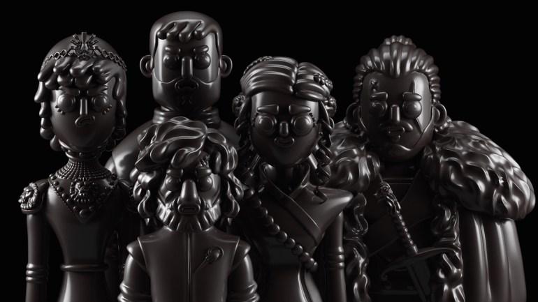games of thrones character design 1024x576 - Conoce los personajes de Games of Thrones en 3D (Fan Art)