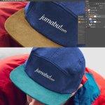 gorra mockup photoshop vicera - Photoshop MockUps de una gorra con vicera