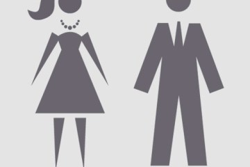 hombre mujer icono - Iconos de Hombre y Mujer con Estilo Retro