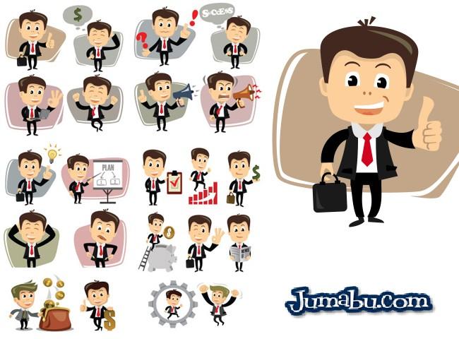 Dibujos de Hombres de Negocios en Vectores  Jumabu
