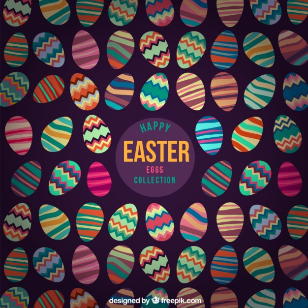 huevos-de-pascua-disenos-coloridos